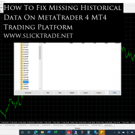How To Fix Missing Historical Data On MetaTrader 4 MT4 Trading Platform